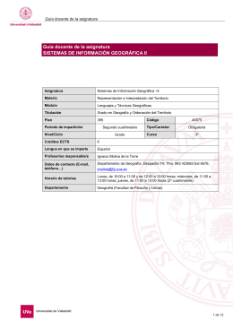 Guía 2014 - Alojamientos Universidad de Valladolid