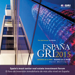 ESPAÑA - Global Real Estate Institute