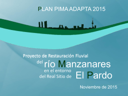 Antecedentes históricos del río Manzanares
