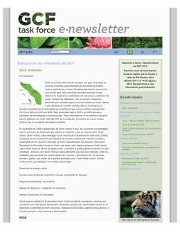 GCF Newsletter