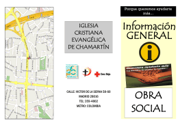 informacion_-general - Iglesia Cristiana Evangélica de Chamartín