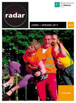 Radar junio+verano 2011 - Ayuntamiento de Huesca