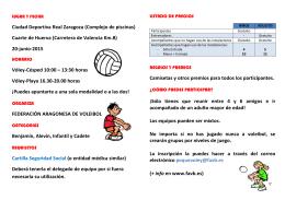 pulsa aquí - Real Federación Española de Voleibol