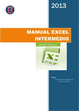 Excel 2013 - Tierravirtual