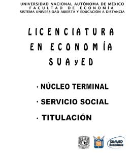 Estructura del Núcleo Terminal - SUAyED Economía