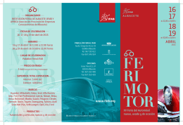 Folleto ferimotor 2015