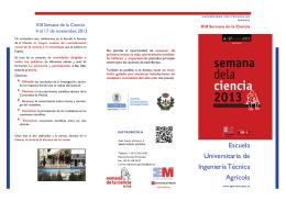 folleto divulgativo - Escuela Universitaria de Ingeniería Técnica