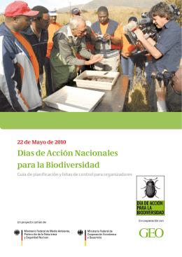 Días de Acción Nacionales para la Biodiversidad - biodiversity