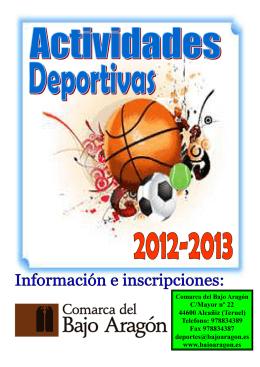 Folleto 2012-2013 Web
