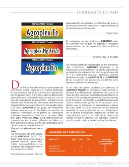 Folleto Agroplex
