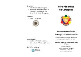 Foro Pediátrico de Cartagen aa
