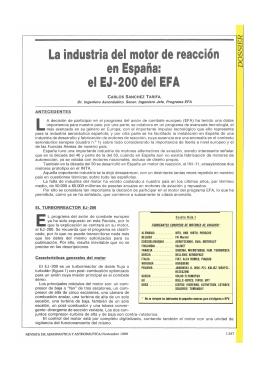 La industria del motor de reacción en España: elEJ