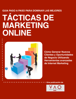 PDF – Ebook Tácticas de Marketing Online