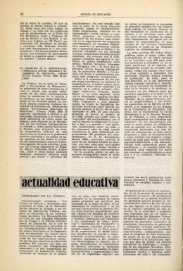 Actualidad educativa - Ministerio de Educación, Cultura y Deporte