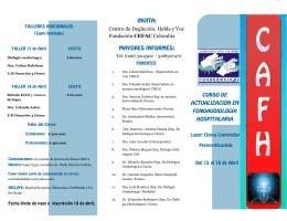 Centro de Deglución, Habla y Voz Fundación CEFAC Colombia