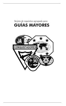 GUÍAS MAYORES