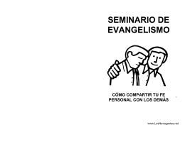el manual de evangelismo personal