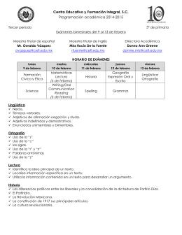 CENTRO EDUCATIVO Y FORMACIÓN INTEGRAL