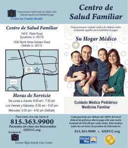 Centro de Salud Familiar - Greater Elgin Family Care Center