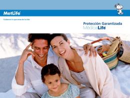 Protección Garantizada MédicaLife