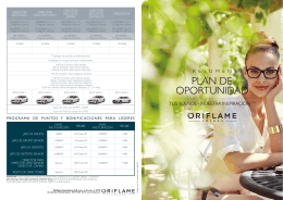 Resumen plan de Oportunidad 2015