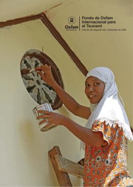 Fondo de Oxfam Internacional para el Tsunami