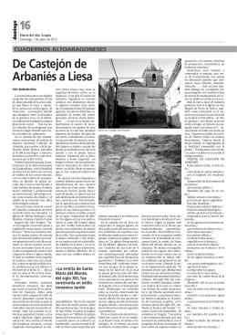 16 De Castejón de Arbaniés a Liesa