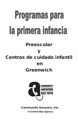 Preescolar y Centros de cuidado infantil en Greenwich