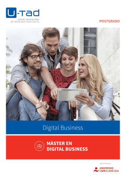 Máster en Digital business