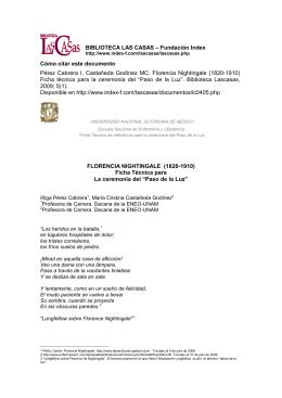 BIBLIOTECA LAS CASAS – Fundación Index Cómo citar este
