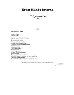 Trigueirinho - Erks Mundo Interno