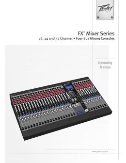FX™ Mixer Series