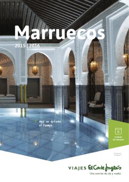 Marruecos 2015 - Viajes el Corte Ingles
