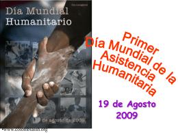 Día Mundial Humanitario