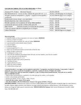 Amanecer 03 (5 años) Ediciones Susaeta R.D.$1,050.00 Mis