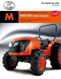 MX5100 Doble tracción