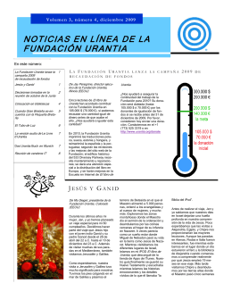 Volumen 3, número 4, diciembre 2009