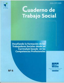 Revista Cuaderno de Trabajo Social N°4