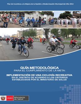 Guia Metodológica. - Municipalidad Provincial de Sullana