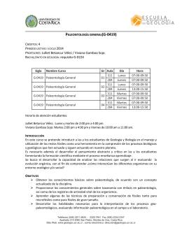 PROFESORES: Julliet Betancur Vélez / Viviana Gamboa Sojo.