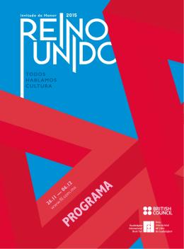 Programa profesional - Reino Unido en México 2015