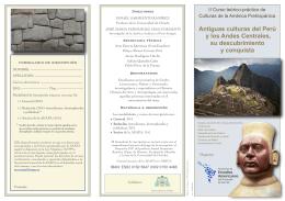 Antiguo Perú (fechas corregidas)