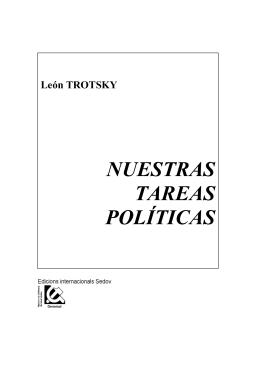 NUESTRAS TAREAS POLÍTICAS - Marxists Internet Archive