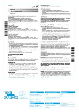Fluanxol® 1 mg y 5 mg Grageas Flupentixol