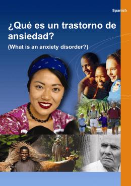 ¿Qué es un trastorno de ansiedad?