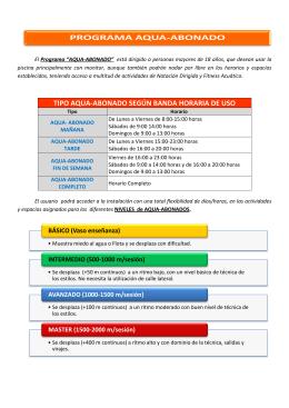 folleto publicitario_Aque Abonado Programa