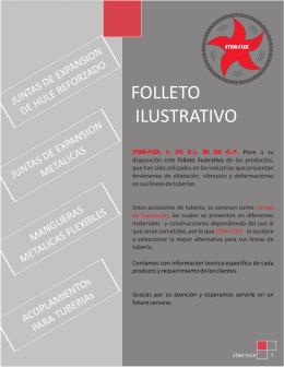 FOLLETO STARFLEX QUIMINET