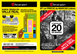 VALLE REAL - Forum Sport