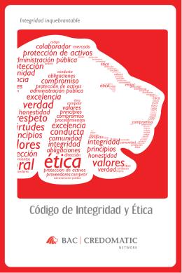 Código de integridad y ética