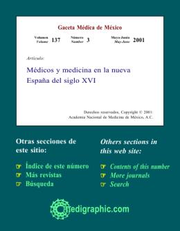 Médicos y medicina en la nueva España del siglo